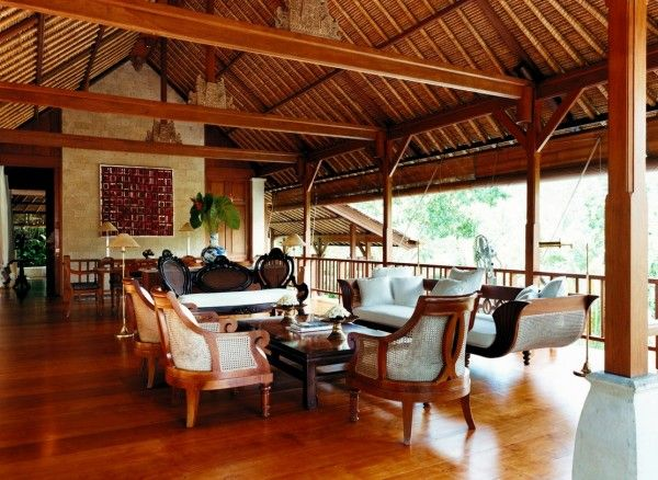 Home design and interior design gallery of beautiful guest living room como shambhala estate bali