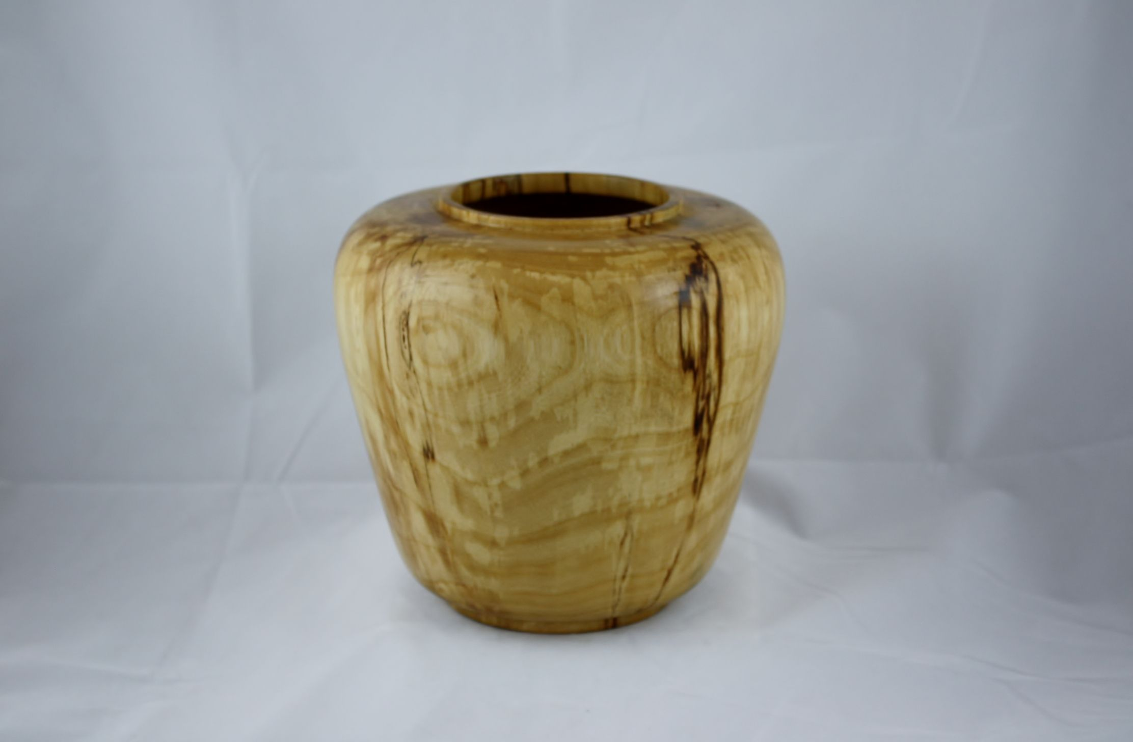 """""""Cascade"""" Spalted White Weeping Birch   H 7.75"""" x W 8.5""""  @ Marnasi.com"""