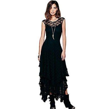 97435b6e0fd AMC Women s 3 Layer Lace Gallus Dress – USD   22.99