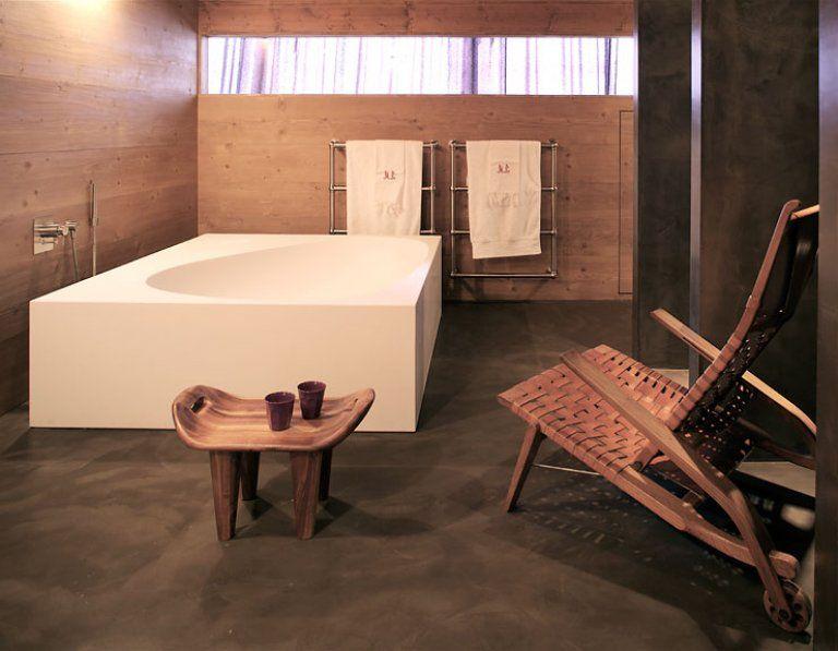 Wellness Badezimmer als Private-Spa Badezimmer, Bäder und Häuschen - schlichtes sauna design holz seeblick