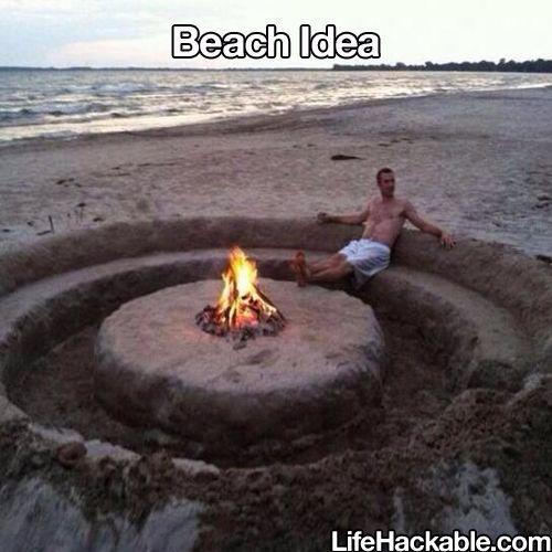 lagerfeuer und strand sind ein muss f r den sommer str nde pinterest strand ideen und sommer. Black Bedroom Furniture Sets. Home Design Ideas