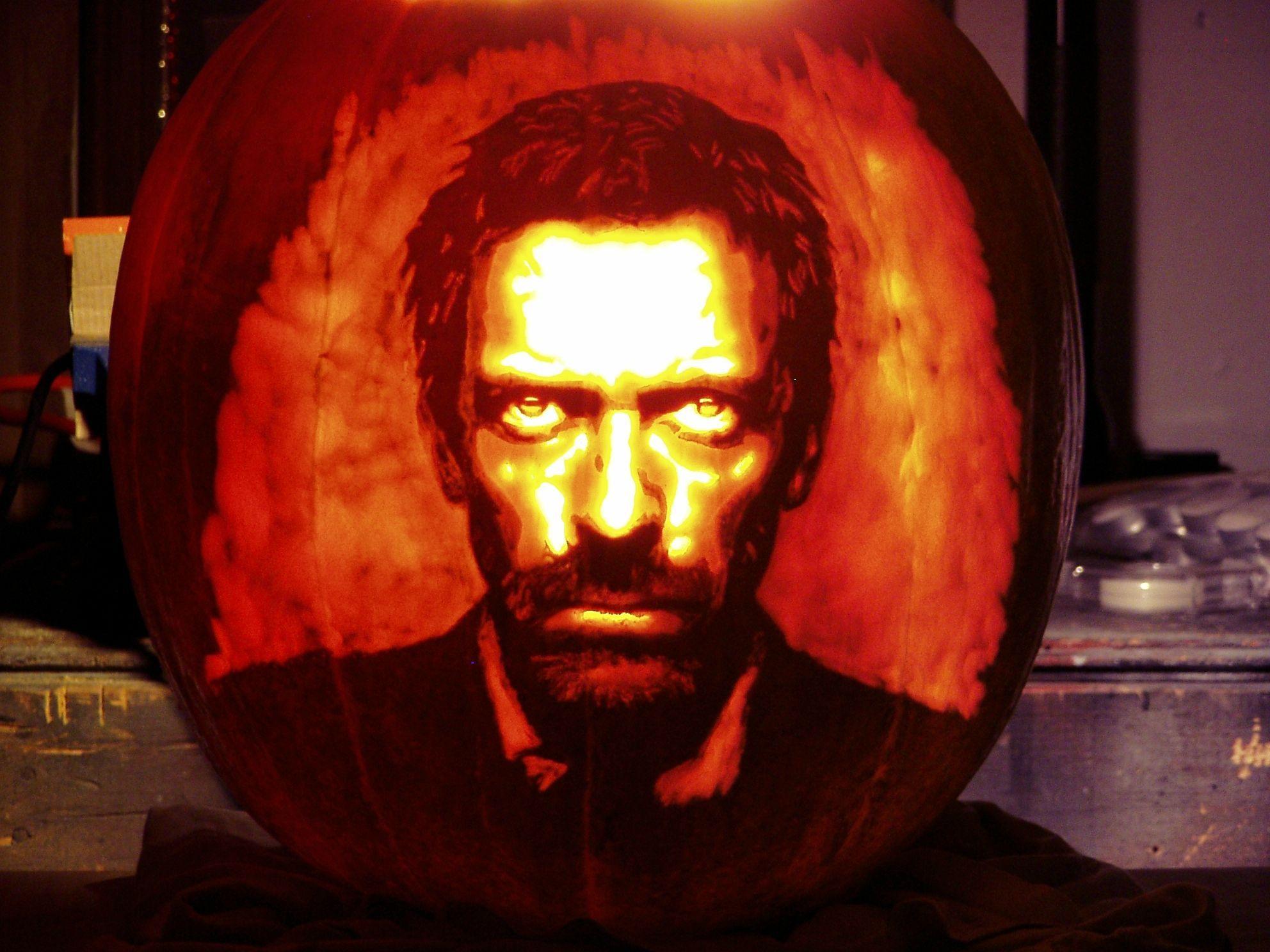 what? it's just a house pumpkin.   pumpkin carvings, pumpkin