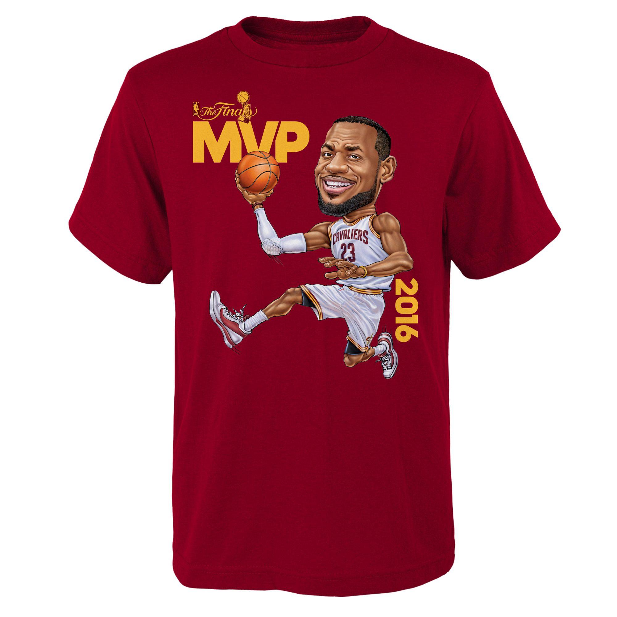 new product 29322 f525c lebron james 2016 championship shirt