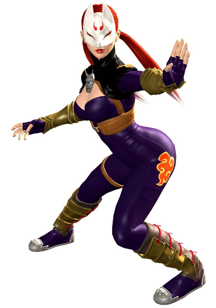 Image Result For Kunimitsu And Yoshimitsu Kitsune Mask Video Games Girls Female Character Design
