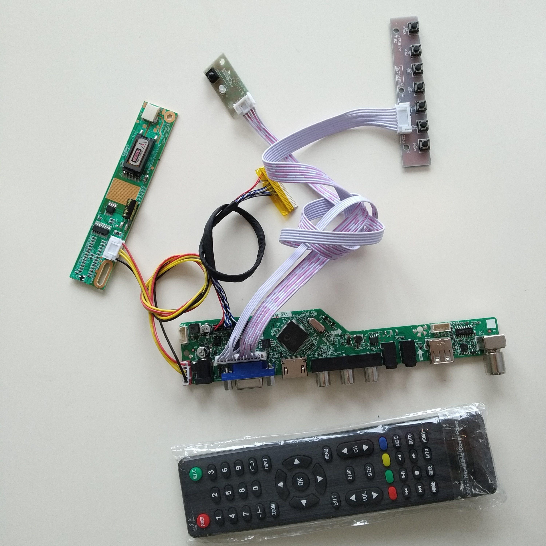 "HDMI+DVI+VGA LCD Screen Controller Driver Board Kit for 23/"" LTM230HT01 1920x1080"