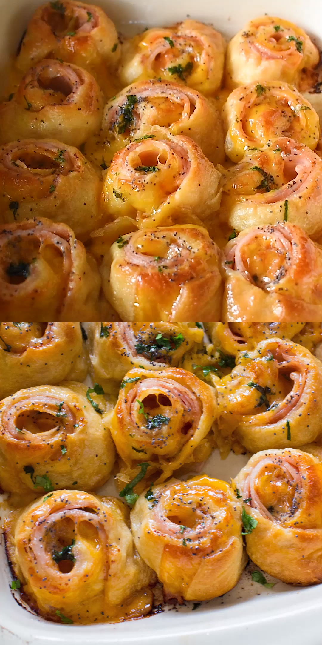 Turkey and Cheese Party Rolls