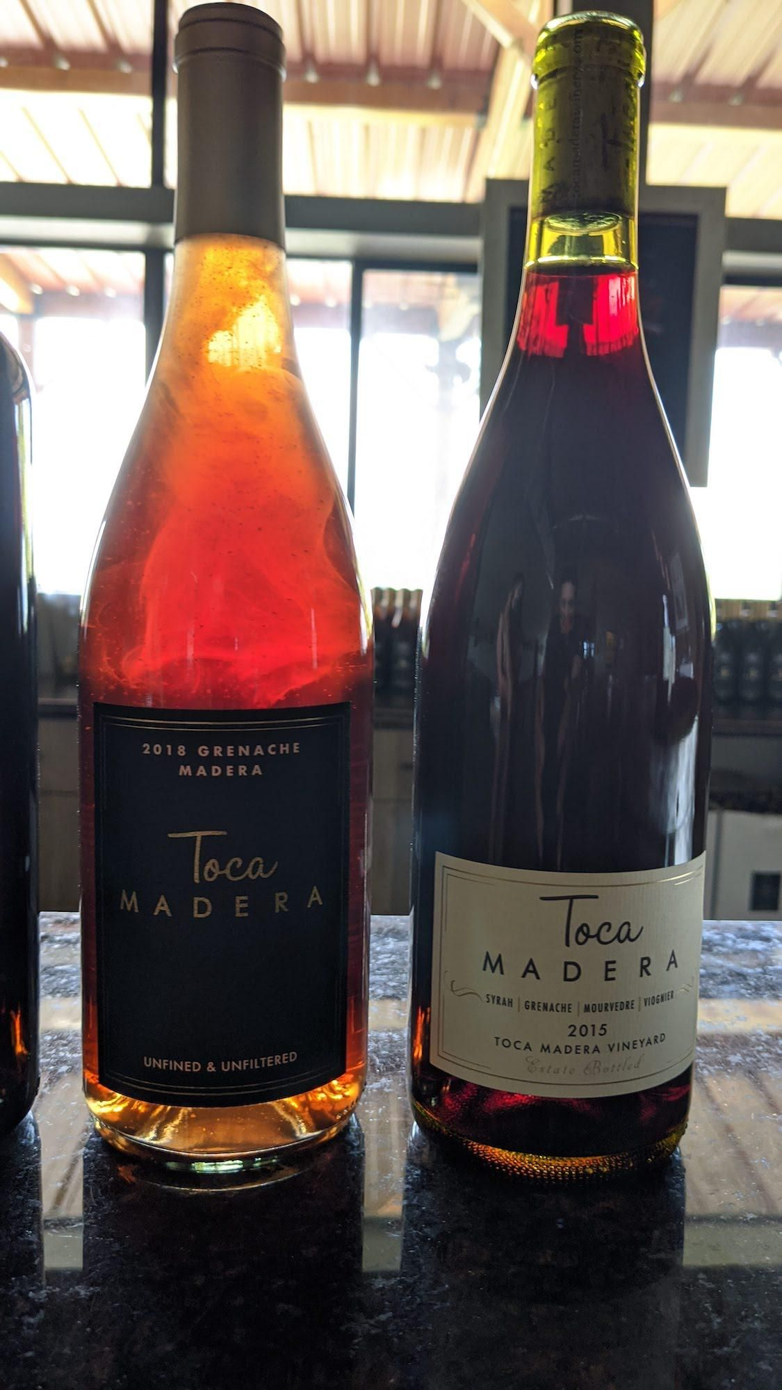 2018 Grenache And 2015 Gsm Toca Madera From Where Madera Ca Athan Zafirov In 2020 Wine Recipes Grenache Madera