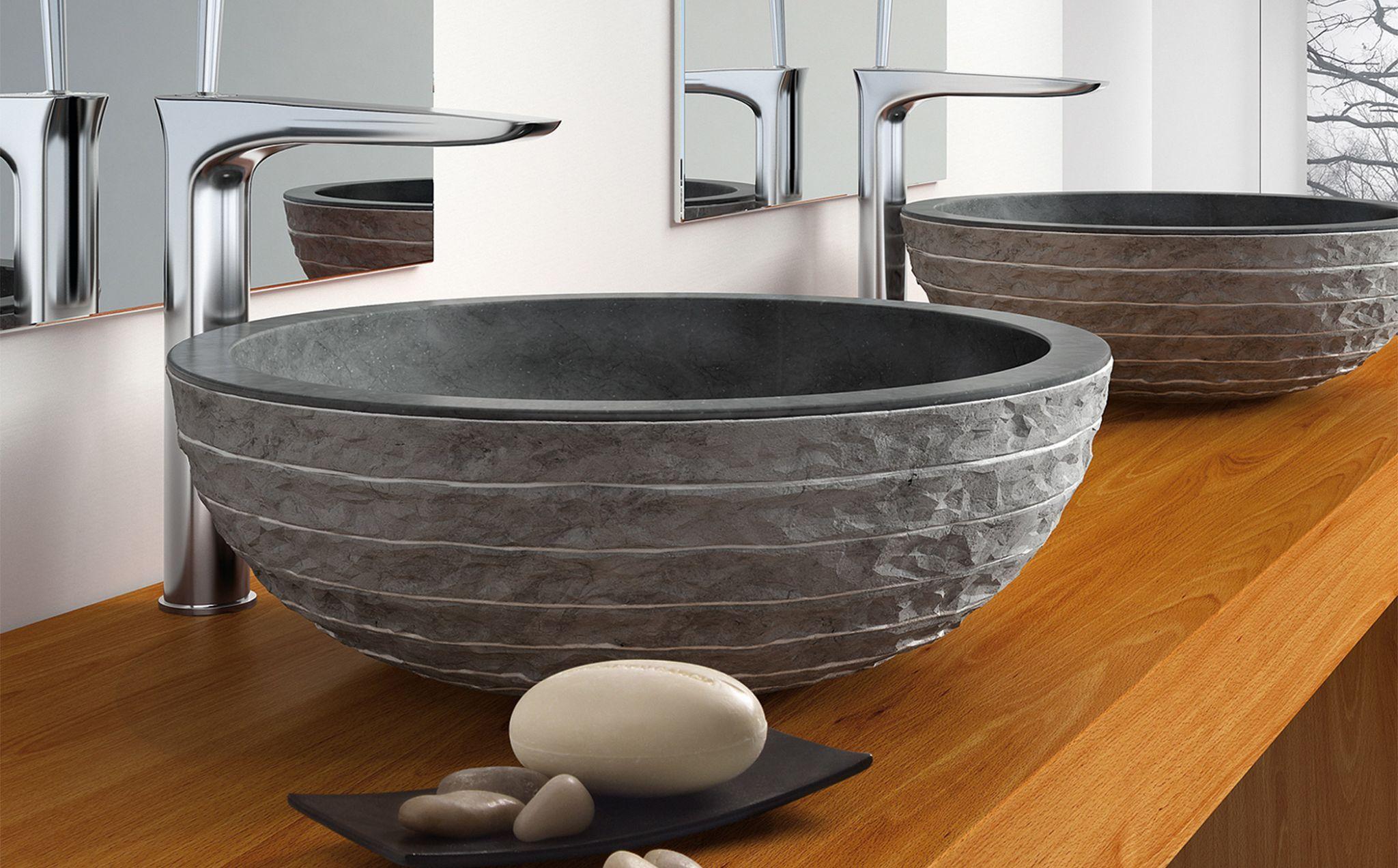 lavabo puket sobre encimera referencia negro referencia