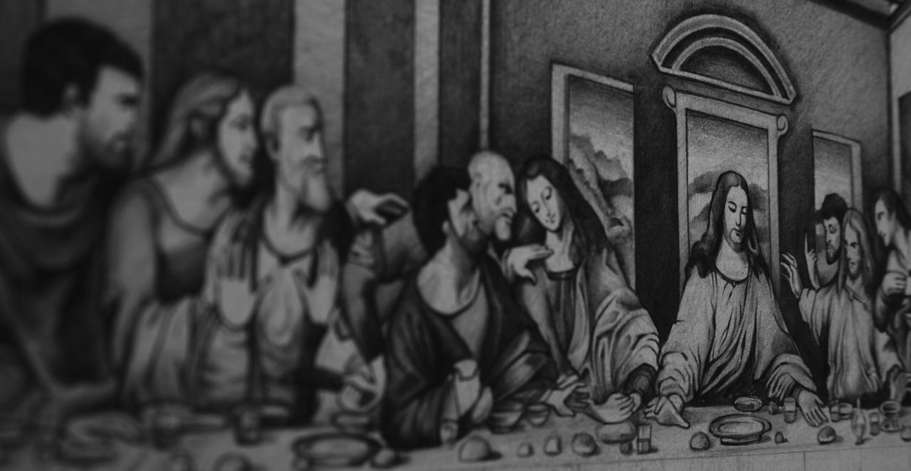 The Last Supper Sketch