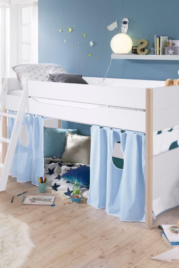 Hochbett Kinder Paidi Kira : hochbett, kinder, paidi, Vorhang-Set, PAIDI, Spielbett,, Vorhänge,