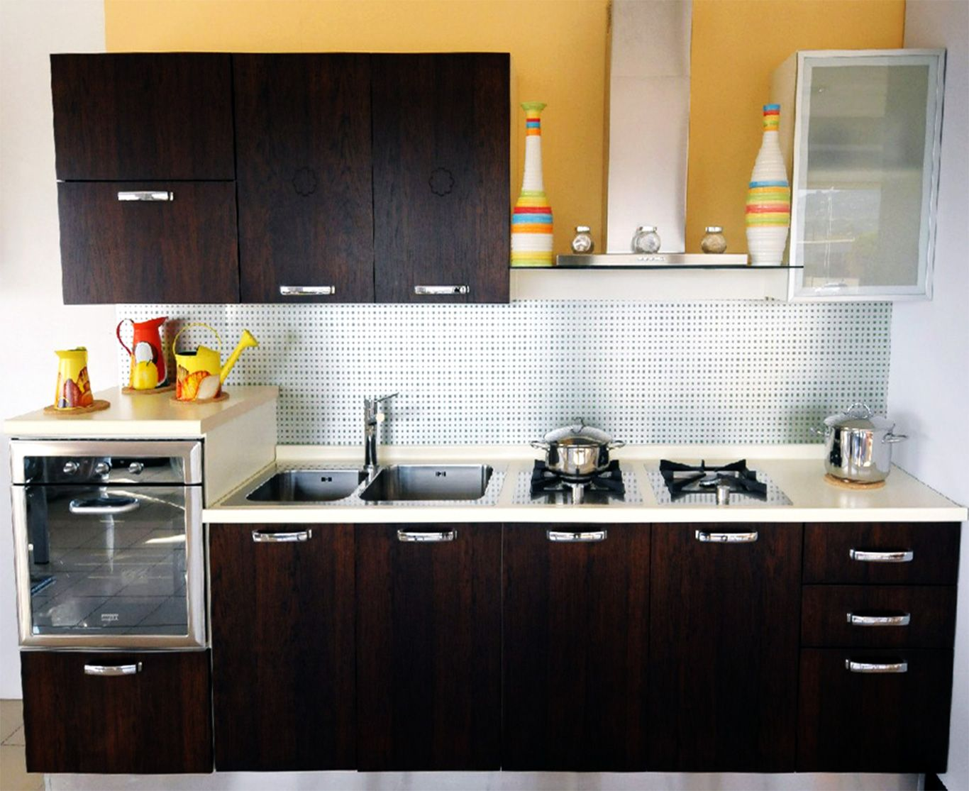 Pune kitchens is the modular kitchen shutters supplier for Simple small kitchen design pictures