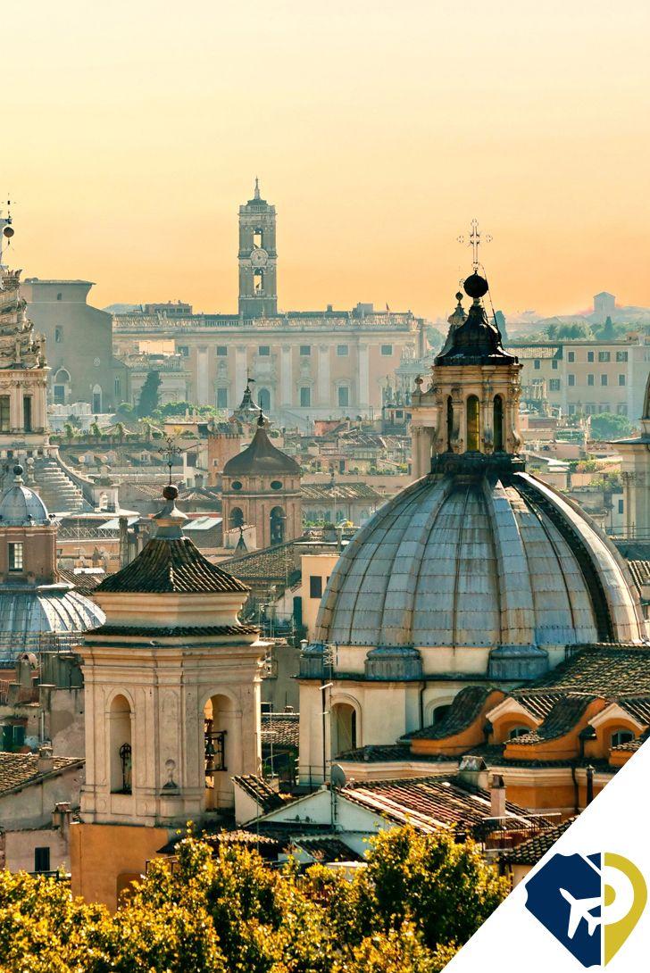 Con Una Larga E Interesante Historia A Sus Espaldas Roma Es Una Ciudad Que Atrae Visitantes De Todo El European Vacation The Good Place Rome Travel