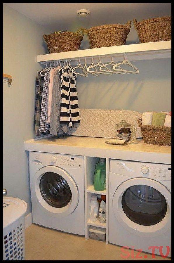 laundryroomstoragediyshelves Cool Laundry Room Cool Laundry Room Shelf Ideas to Organize Small Laundry Rooms 4 laundryroomstoragediyshelves Cool Laundry Room Cool Laundry...
