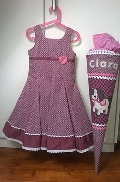 Photo of Fadenland: School dress: combination of Elodie and Emp …