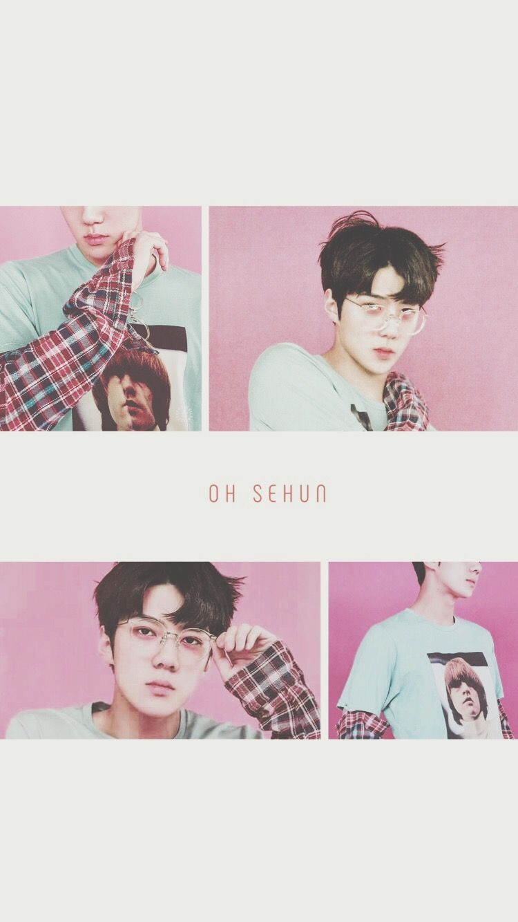 Exo Wallpaper Iphone Sehun Exo Kpop Lockscreens Pinterest