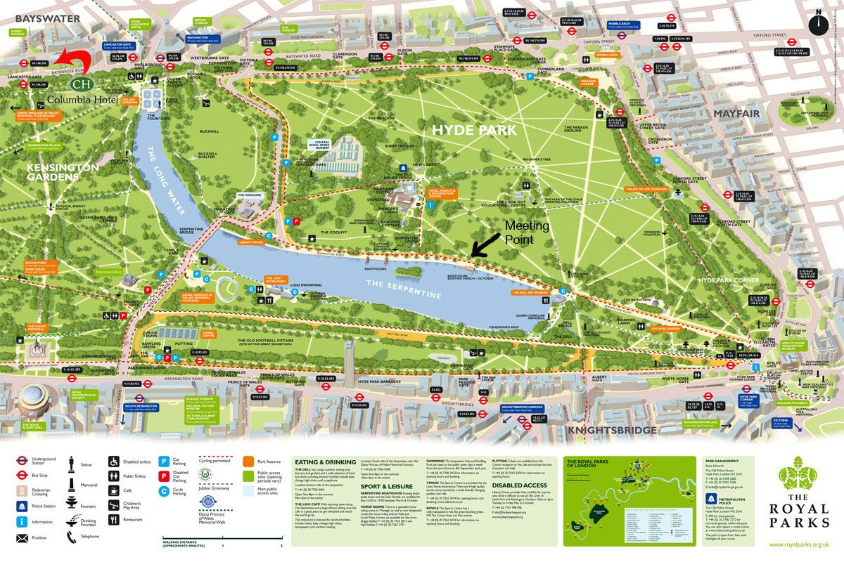 hyde park is one of the largest parks in central london united kingdom and one of the royal parks of london famous for its speakers corner