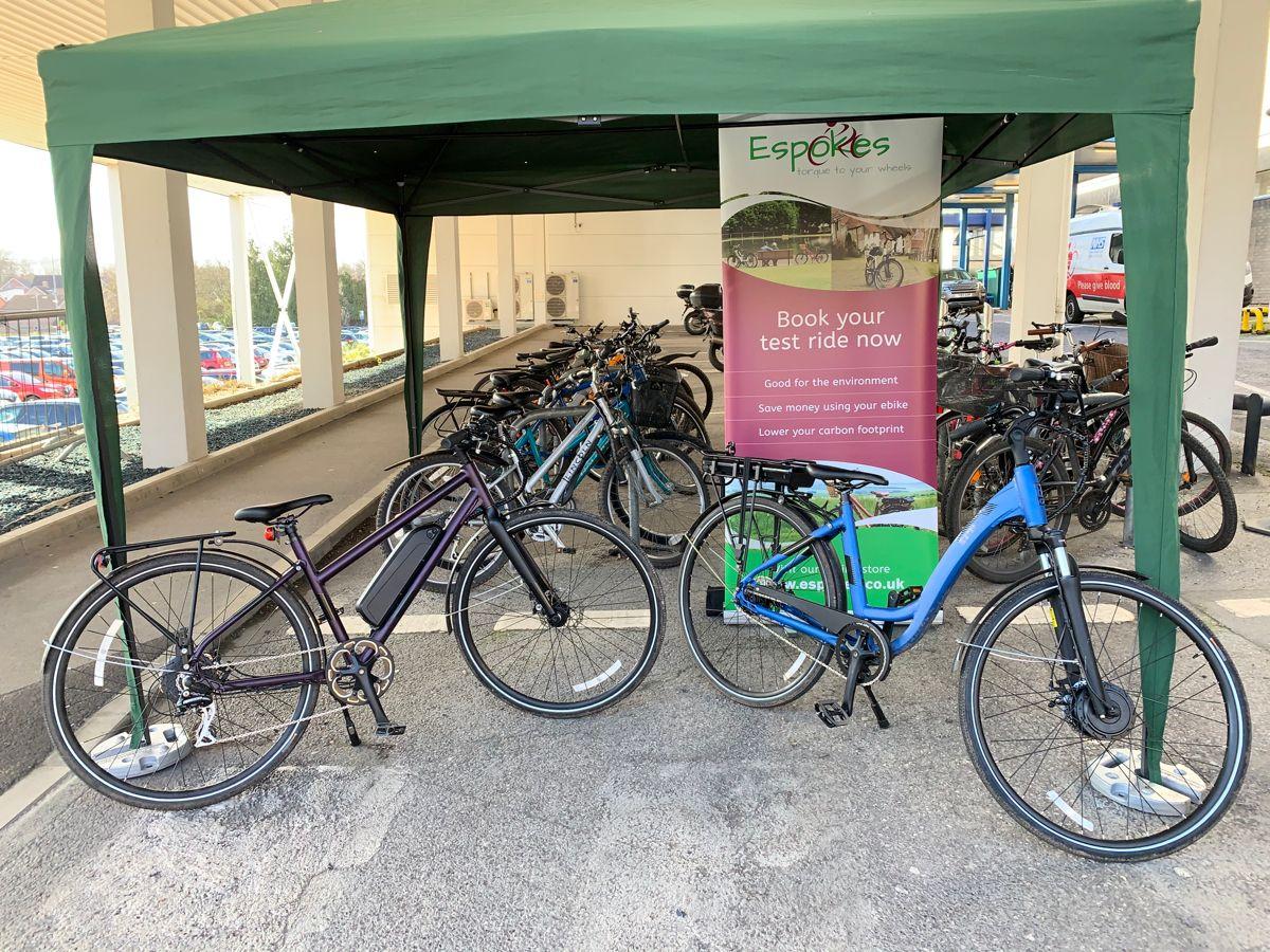 Test Riding In 2020 Ebike Electric Bike Basingstoke
