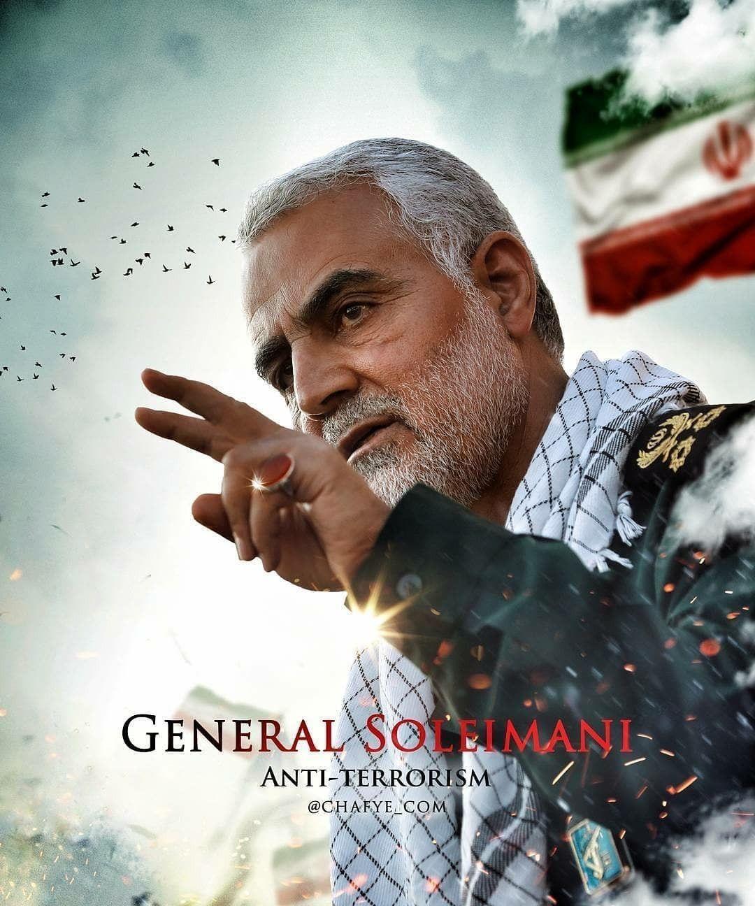 نتیجه تصویری برای ghasem soleimani iran