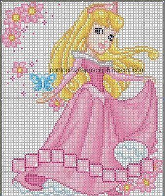 ENCANTOS EM PONTO CRUZ: As Princesas da Disney | CG-Disney ...