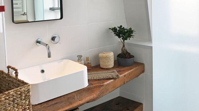 Rénovation petite salle de bains de 3 m2 Euro, Bathroom