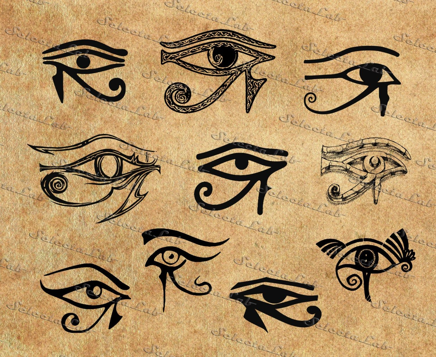 Digital Svg Png Eye Of Horus Wadjet Whole One All Seeing Etsy Egypt Tattoo Egyptian Tattoo Egyptian Eye Tattoos