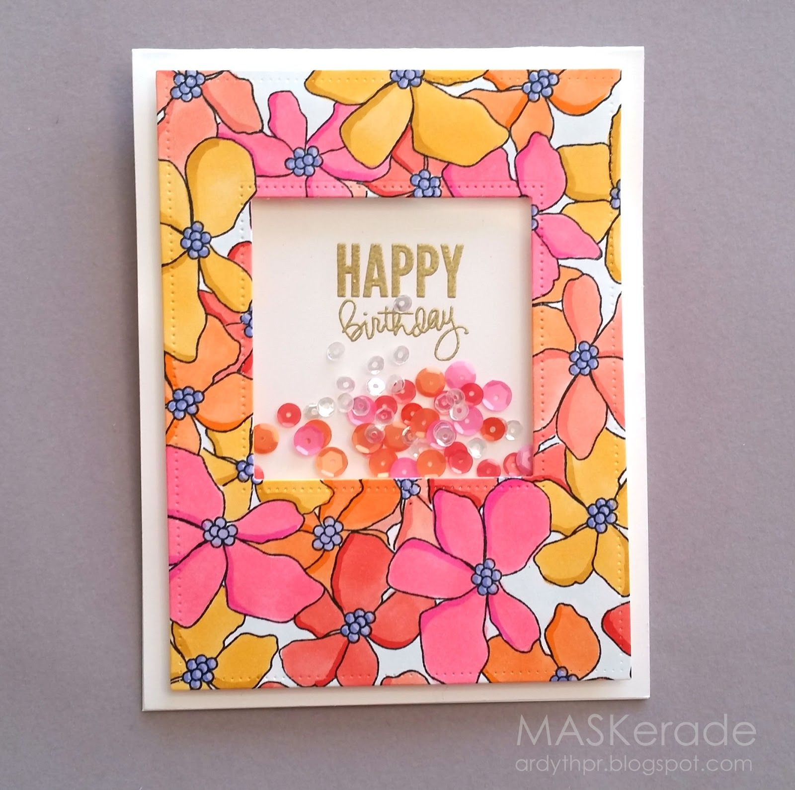 Once again, I spent some time making more than one card with a stamp set - this time Artful Flowers  from Simon Says Stamp. I enjoyed ...