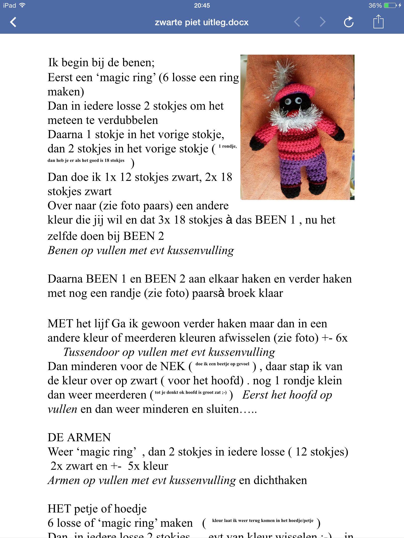 Zwarte Piet Sinterklaas Zwarte Piet Sinterklaas En Haken