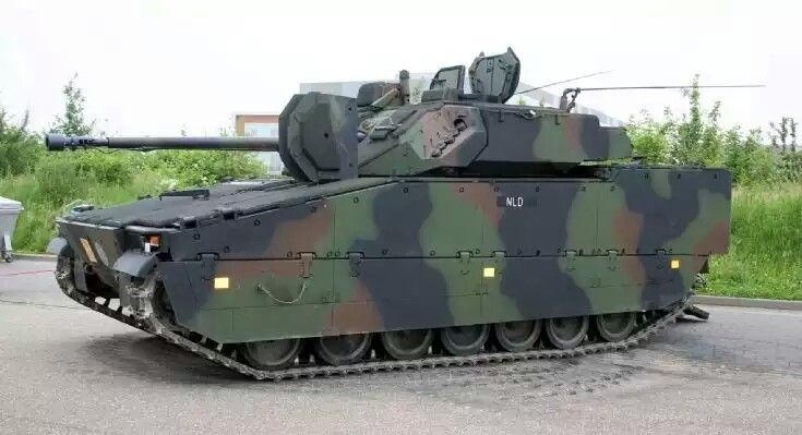 The CV-9035 light infantry vehichle of the Royal Dutch Army used by the panser infantry