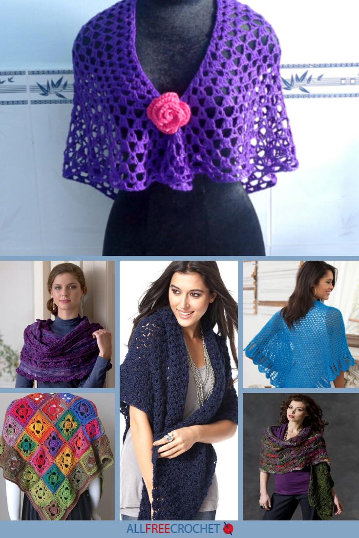 9eb980170 Lovely Lacy Shawls  30+ Free Crochet Lace Shawl Patterns