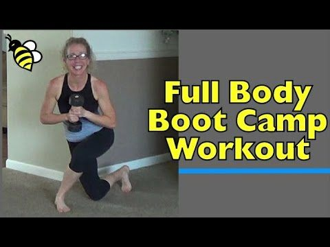 full body boot camp in your living room  core strength