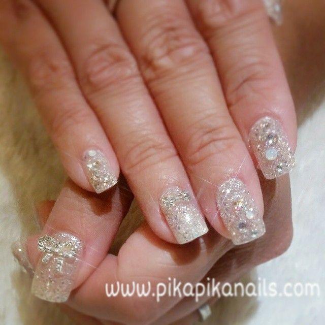 """#nail #nails #beautiful #nailswag #nailart #fashion #love #cute #art #unhas #unghiette #good #polish #follow #sparkles #unghiedecorate #nailpolish #girl…"""