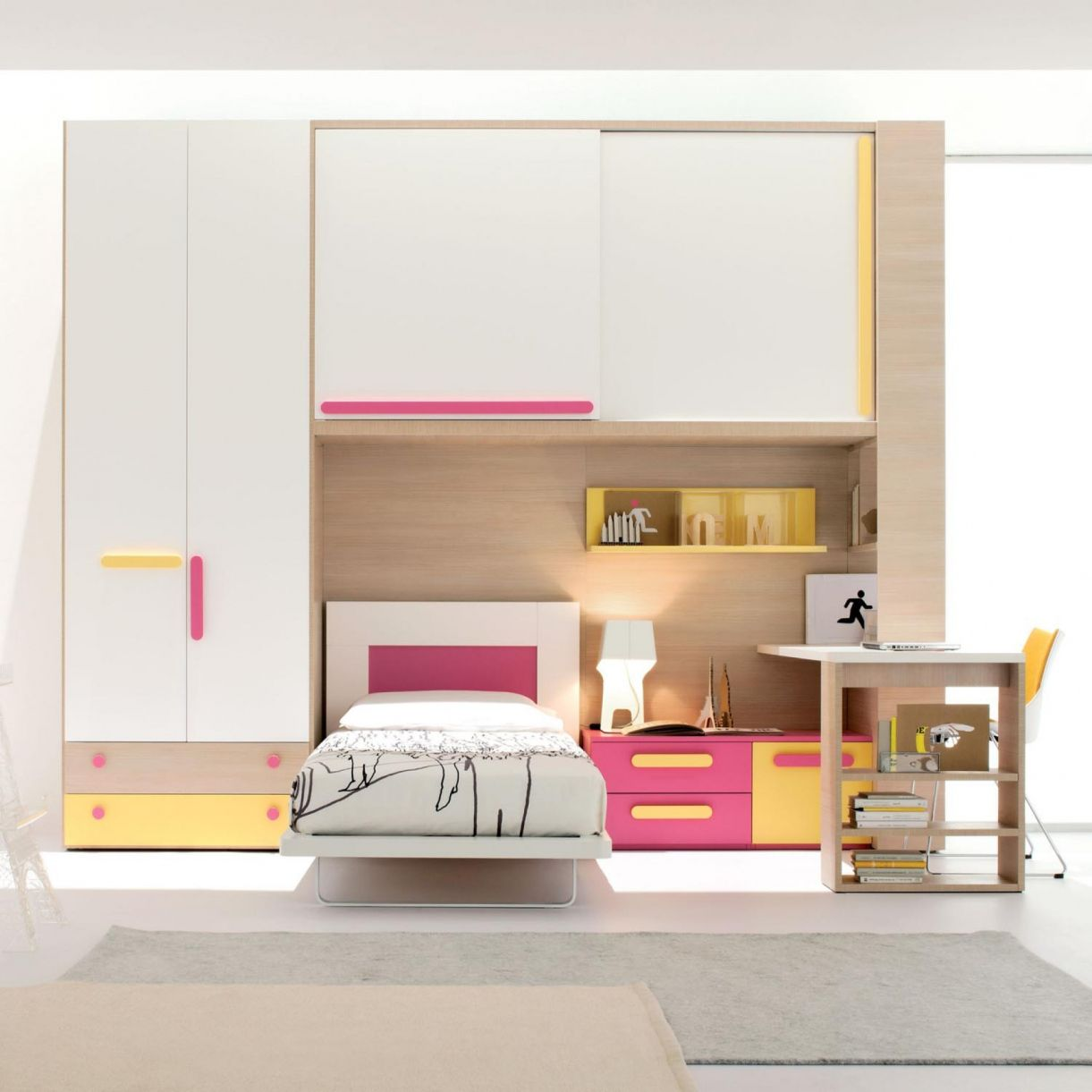 Attractive Space Saving Childrens Bedroom Furniture   Interior Design Bedroom Ideas On  A Budget Check More At. Bedroom Sets For GirlsKid ...