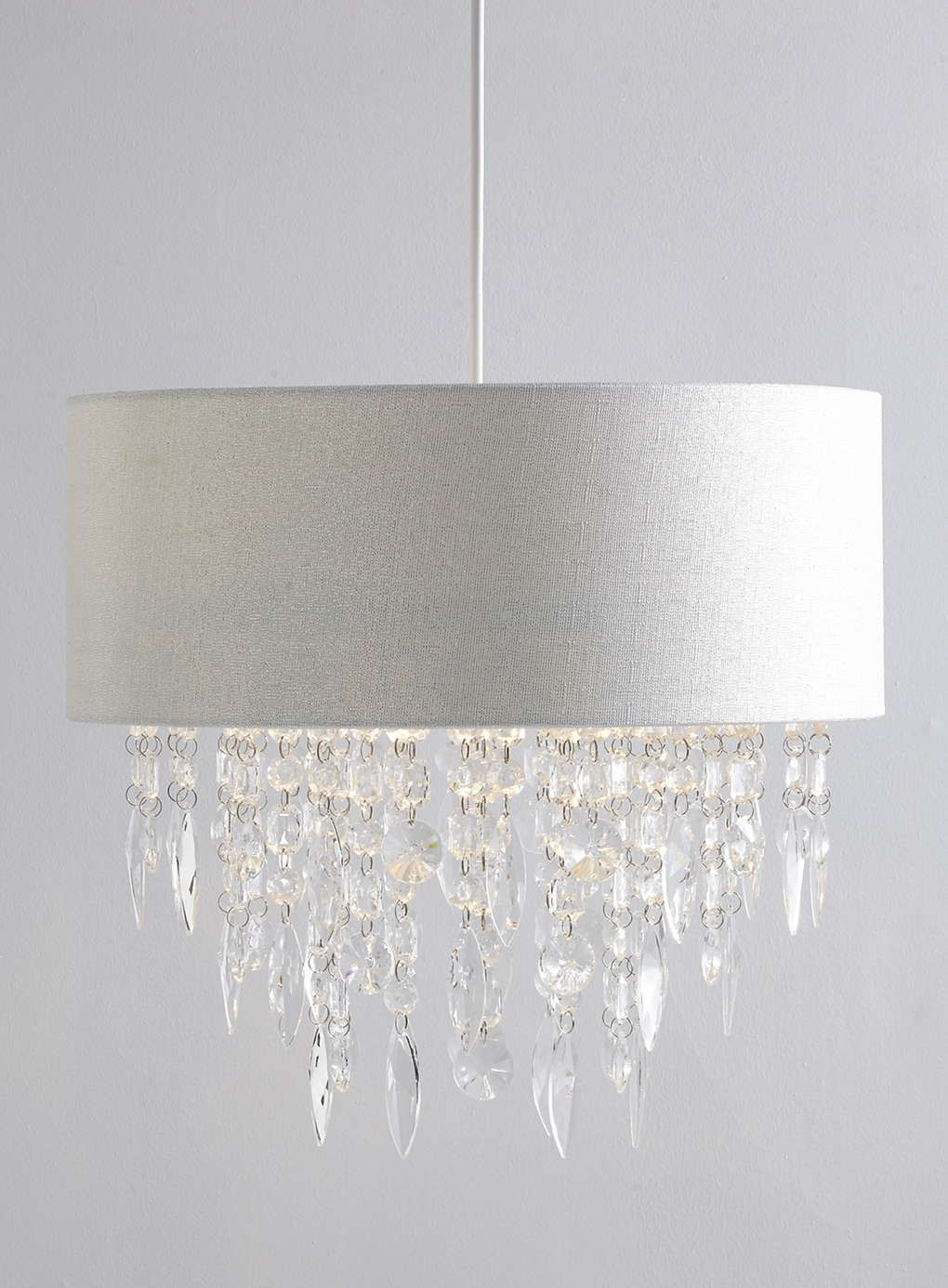 Photo 1 of Silver Fiji Easy to Fit Ceiling Light | Lounge ideas ...