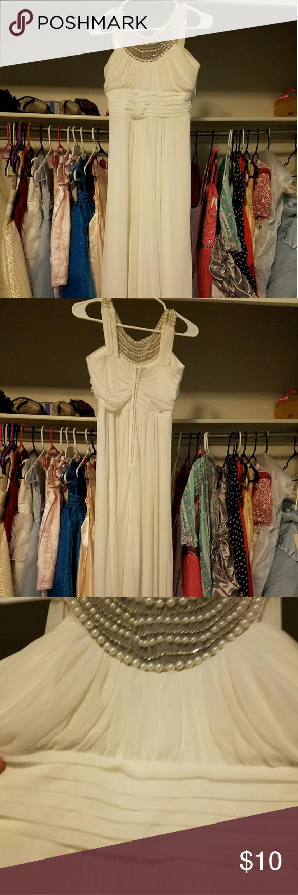Ivory grecian formal dress my posh picks pinterest formal