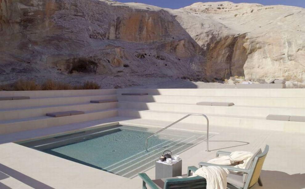 Caro relax dentro le spa pi lussuose del mondo - Piscine rocciose ...