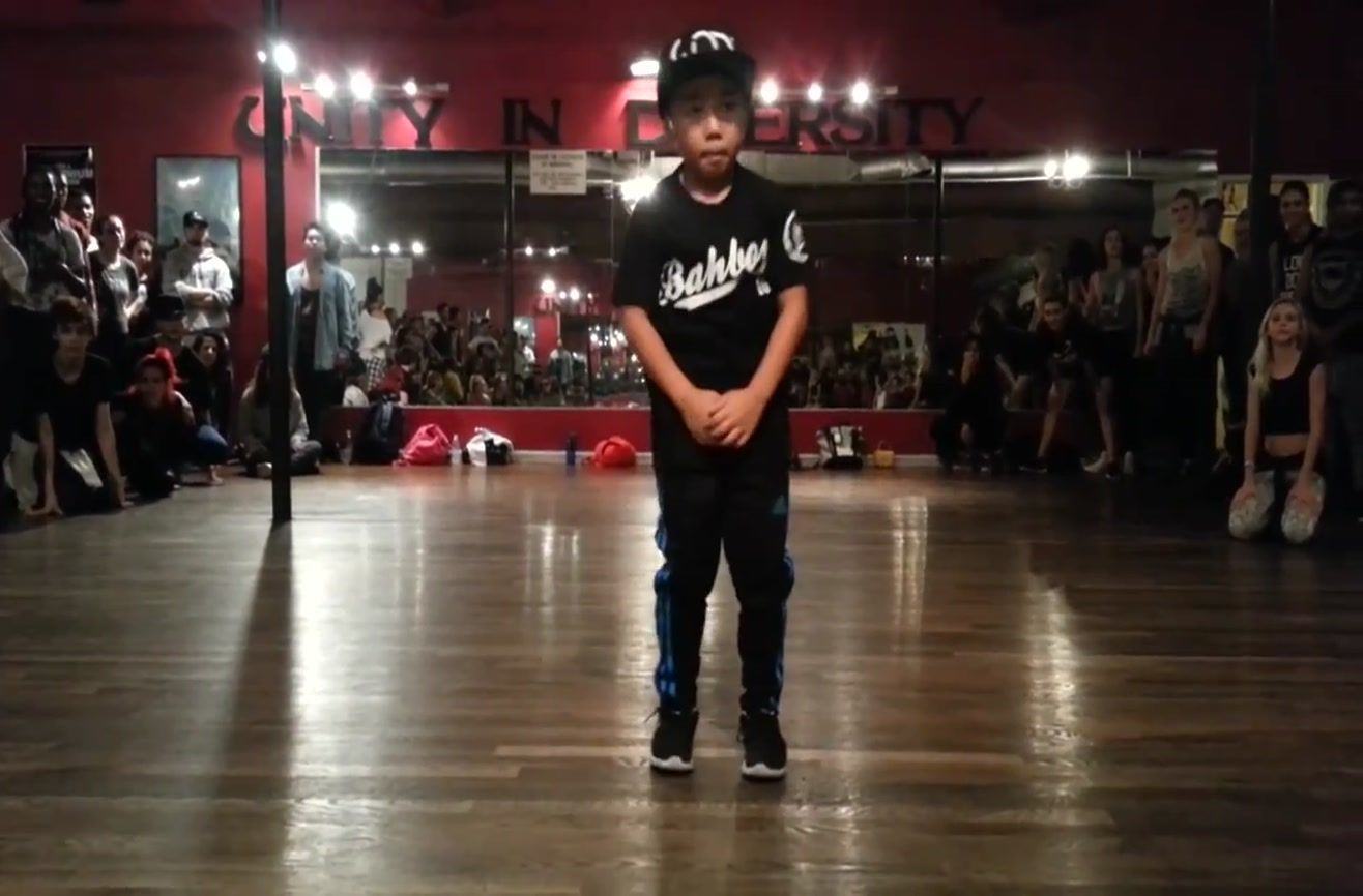 Aidan Prince Xiong is a young dancer and model from California. He began dancing when he was four years old, and it seems like all of that practice has paid off. His dance was choreographed by Tricia Miranda at the International Dance Academy in Hollywood.