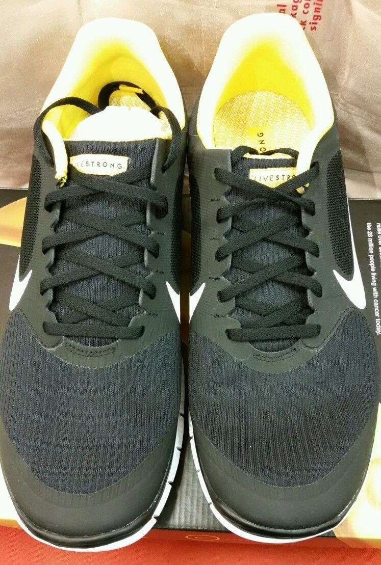 54042d5984f Nike Free 4.0 V3 Livestrong Men s size 13 Running Shoe. (586297 007 ...