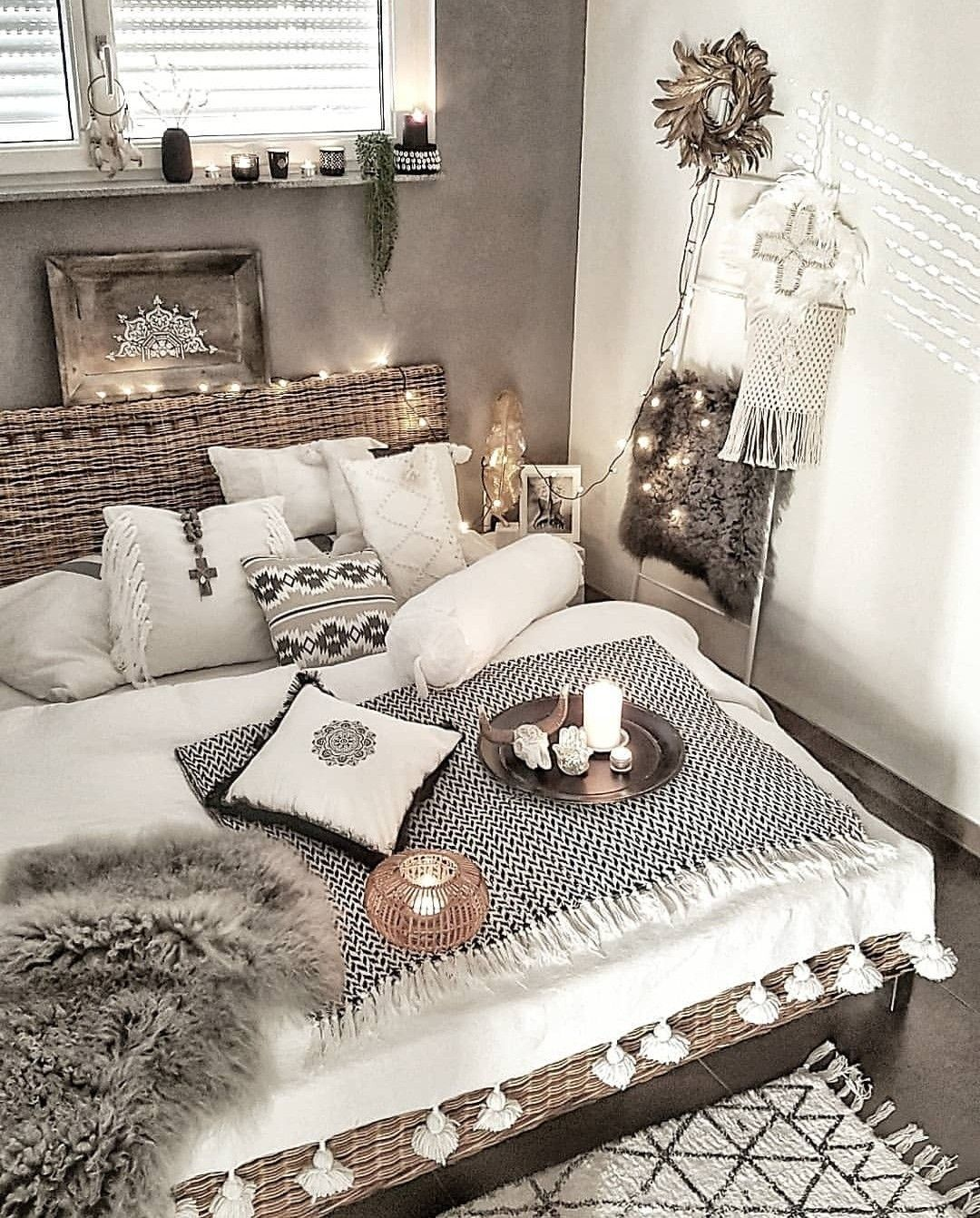 Love the hygge in this one! Probably slightly more boho than my actual style.