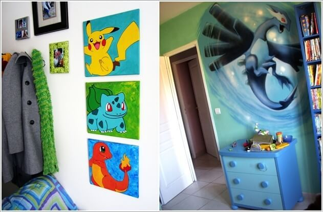 Have A Look At These Cool Pokemon Bedroom Ideas 4 Themed Kids Room Pokemon Room Kids Bedroom Remodel