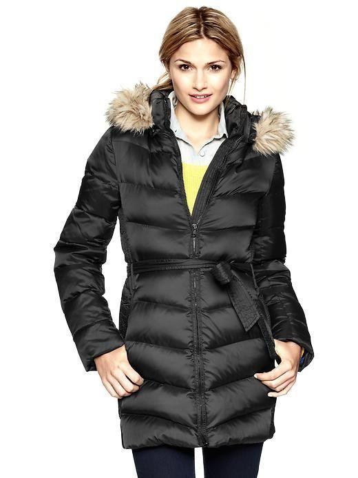 6224d23de557 Gap Fur Trim Puffer Jacket | Women's Fashion - Winter - Jacket ...