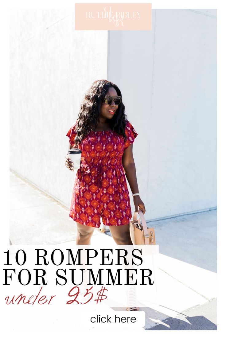 10 Rompers For Summer Under 25.00
