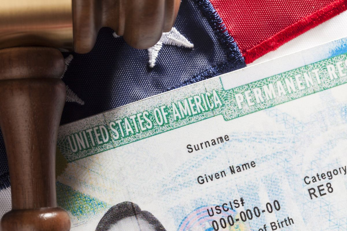 Allan Wernick Divorcing An American Spouse Doesn T Mean Losing Legal Immigrant Status Green Card Application Green Cards Cards