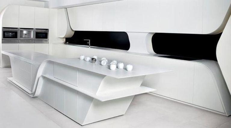 Innovative Kitchen Design Impressive Futuristic And Innovative Kitchen Designacero  Interior Deco Design Decoration