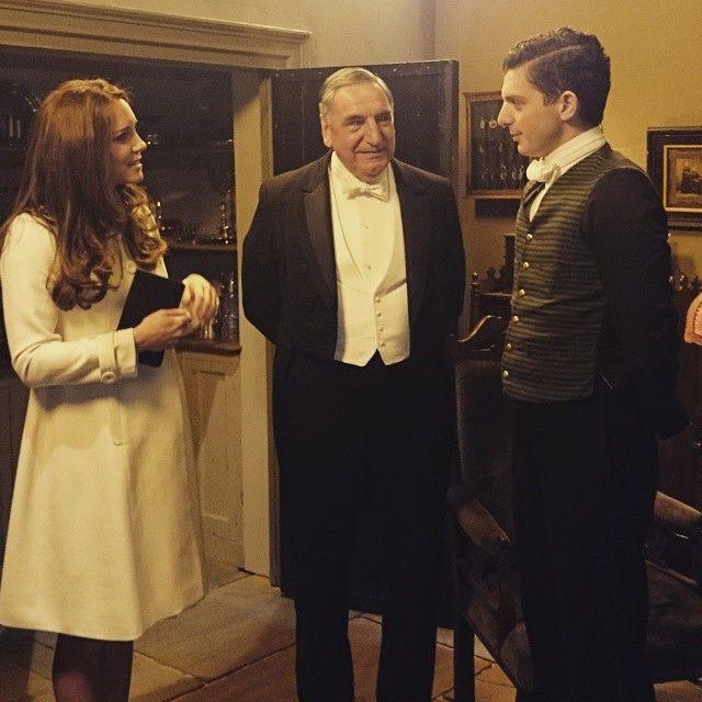 The #DuchessAtDownton