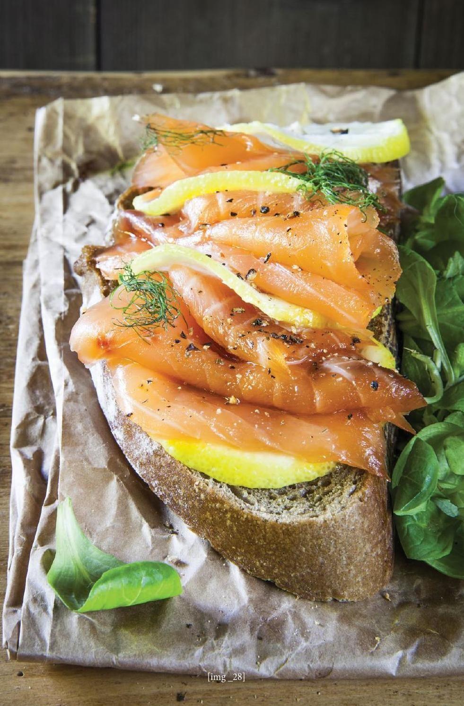 crostino al salmone