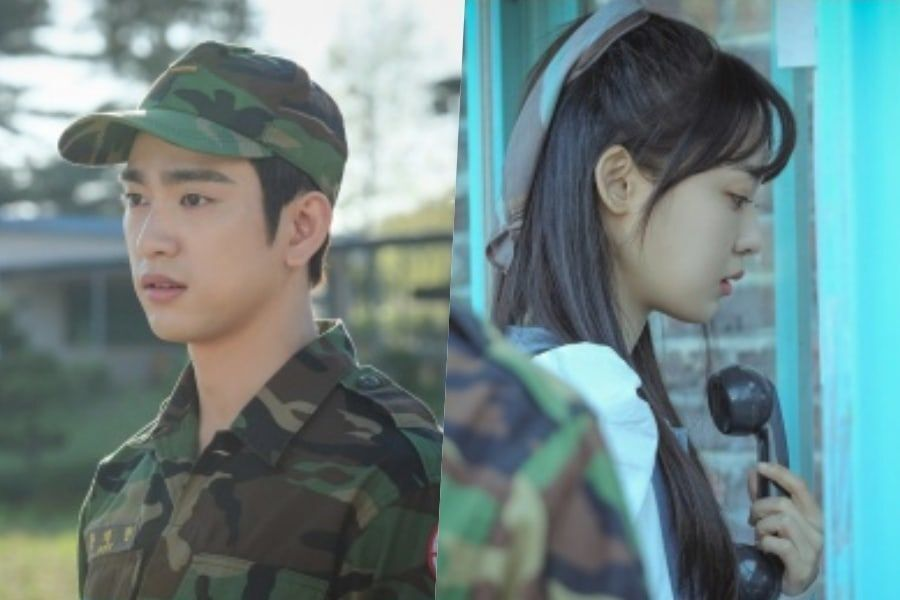 "Jeon So Nee Visits GOT7's Jinyoung In The Military In ""When My Love Blooms"" Stills"