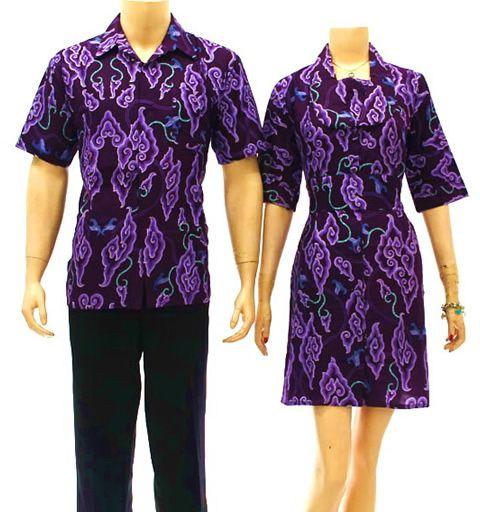 Koleksi Batik Pria Modern: Busana Batik Modern Koleksi Baju Batik Modern Wanita Pria