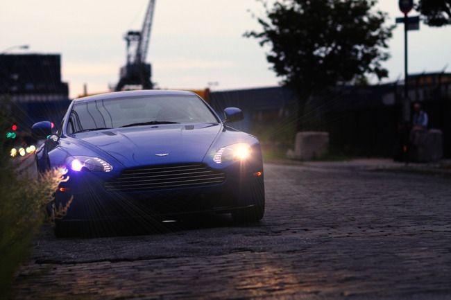 Photo Essay Taking Advantage 500 Miles In The Aston Martin Vantage S Gear Patrol Aston Martin Vantage S Aston Martin Vantage Aston Martin