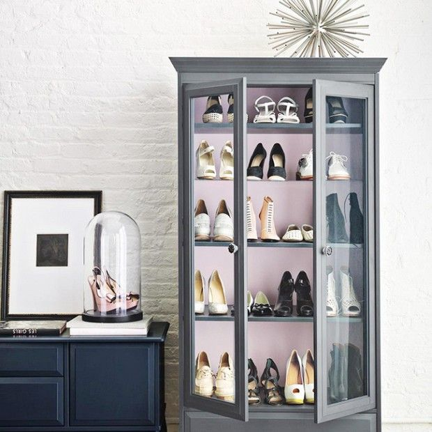 13 Creative Ways To Organize Your Shoes, Inspired By Pinterest | WhoWhatWear.com
