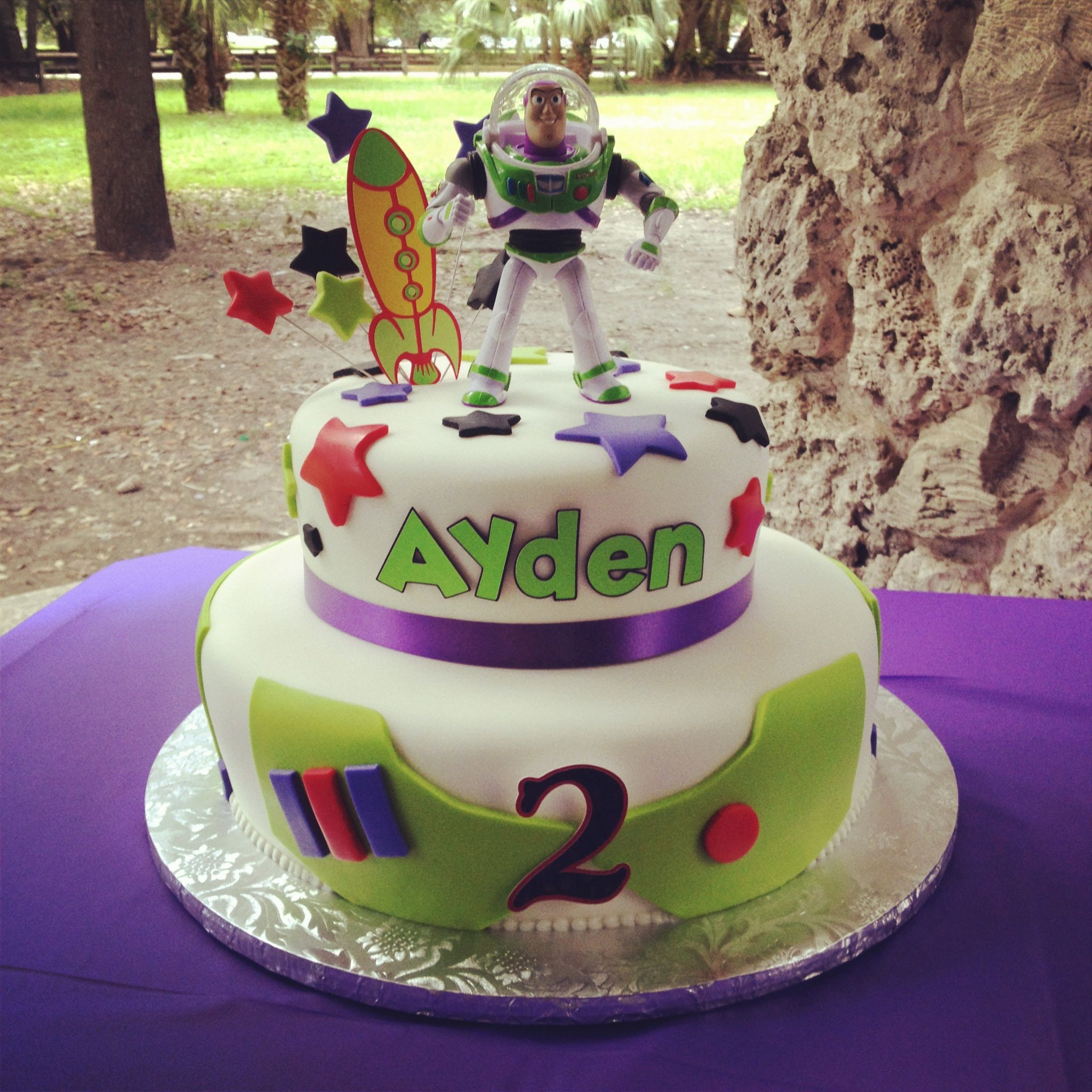 Aydens buzz lightyear birthday cake 0 cake toy story